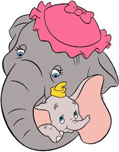 Images of Dumbo, Timothy Q Mouse, Jim Crow and the Ringmaster from Disney's animated movie Dumbo. Dumbo Baby Shower, Baby Dumbo, Dumbo The Elephant, Baby Elephant, Disney Love, Disney Art, Dumbo Disney, Disney Drawings, Cute Drawings