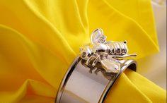 bumblebee napkin ring