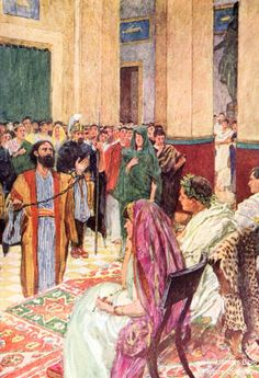 Acts 25 Bible Pictures: Paul before Agrippa