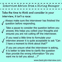 Winning Job Interview Tips Winning job interview advice & tips – stand out as the right job candidate. Interview Nerves, Job Interview Preparation, Interview Skills, Job Interview Questions, Job Interview Tips, Job Interviews, Interview Answers, Job Resume, Resume Tips