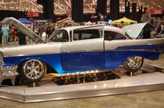 Custom 1957 Chevy seen at Cleveland, OH Autorama 2010 Photographer: Richard Geul