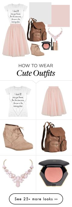 """School outfit"" by loveshoes-1 on Polyvore featuring Ted Baker, City Classified, H&M, Humble Chic, Elizabeth Arden and Charlotte Tilbury"
