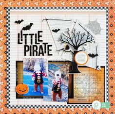 Capture all the spooks, tricks and treats with this fun Halloween layout by Becki Adams!
