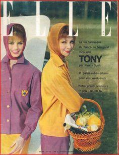 ▬►Elle 744 de 1960 Georges Simenon_Brigitte Bardot_MARIA CALLAS_Mode Fashion