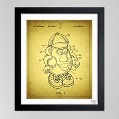 Mr. Potato, 2001 - Blueprint by Oliver Gal Artist Co.