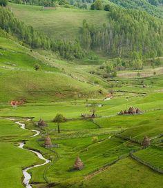 Lunca Ponorului, Sureanu Romania, Golf Courses, Landscape, Country, Nature, Scenery, Naturaleza, Rural Area, Country Music