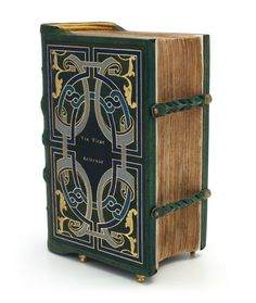 Via Vitae Aeternae by Jan Camps on the Society of Bookbinders site. You need to click the Historic Binding tab to view the image.