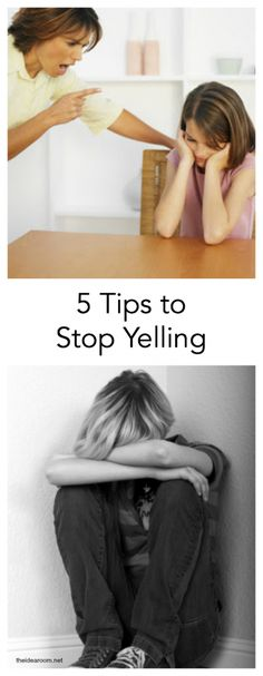 4 Tips to Stop Yelling - The Idea Room