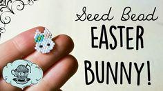 DIY Seed Bead Easter Spring Bunny // Bead Weaving // ¦ The Corner of Craft