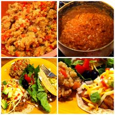 Introducing my sister to pressure cooking (A Vegan Mexican Feast!)