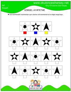 okul öncesi çizgi çalışmaları Dyslexia Activities, Infant Activities, Preschool Activities, Teacher Worksheets, Worksheets For Kids, Visual Perception Activities, Picture Composition, Green Books, Thinking Skills