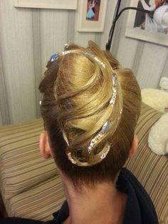 dancesport hair