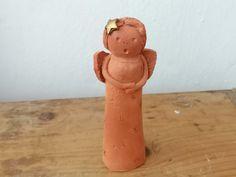 Engel aus Keramik Keramikfigur Weihnachtsdeko homedeko