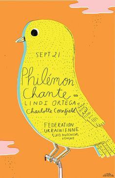 PHILEMON CHANTE poster by Ohara.Hale