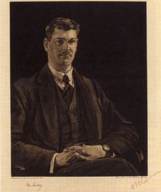 A lithograph of Michael Collins by John Lavery 1921