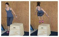 Game-changer workout: 10 Plyo box exercises - Girls Gone Sporty Hero Workouts, Tabata Workouts, At Home Workouts, Triathlon Training, Sports Training, Box Jump Workout, Fitness Diary, Fitness Tips, Plyo Box