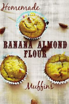 I found a simple and tasty solution for my baking and sweet cravings: Homemade Banana Almond Flour Muffins. No refined sugars, and very few healthy ingredients. With the beginning of the fall seaso…