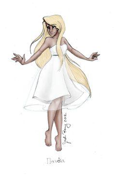 Greek Goddess: Pandia by JadeAriel.deviantart.com on @deviantART