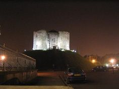 York - Clifford Tower: Many Jews committed suicide in the tower rather than surrender to the rioting anti-Semitic mobs tearing up the town. The ground of the tower is said to be stained red, even after being dug up and replaced.