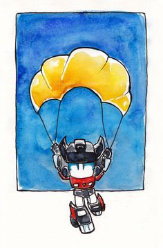 Sideswipe's Parachute by The-Starhorse.deviantart.com on @deviantART
