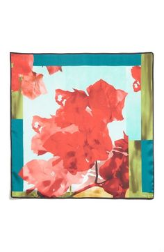 Free shipping and returns on Lafayette 148 New York Print Silk Scarf at Nordstrom.com. A painterly floral print inspired by the vibrancy of Cuba brings artful energy to a lustrous silk scarf with hand-rolled edges. Use it to add a pop of rich color to monochromatic looks.