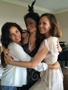 Jenna, Madchen, and Rachel