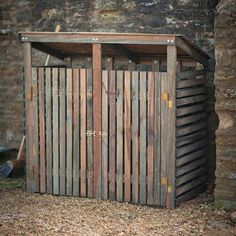 double wheelie bin shed to store two wheelie bins and your recycling bins and storage boxes