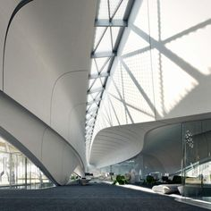 Bee'ah Headquarters in Sharjah, UAE by Zaha Hadid