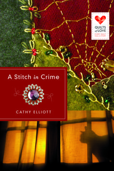 One more look at the cover (wink) - I like the crazy quilt at the top (a key part of the mystery) balanced w/the spooky cat image below. Oooo. Available @ http://www.amazon.com/Stitch-Crime-Quilts-Love-Series/dp/142677365X/ref=tmm_pap_title_0?ie=UTF8&qid=1411942478&sr=1-2