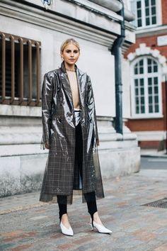 Veja os looks de moda rua direto da Semana de Moda de Londres.