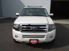 2014 Ford Expedition Limited 4x4 Limited 4dr SUV SUV 4 Doors White for sale in Spokane, WA Source: http://www.usedcarsgroup.com/used-ford-for-sale-in-spokane-wa