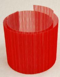 2012 Organza  rot plissiert ist auf transparente Folie kaschiert. Organza rot ist eine Rollenware, die Materialbreite ist 145 cm. Das Material kann meterweise bestellt werden. Sehr gerne wird dieses Material auf trommelförmige Lampenschirme verarbeitet. Auf Wunsch fertigen wir Zuschnitte für trommelförmige Lampenschirme an.  Wir können diese sehr beliebte Lampenschirmfolie in 9 Farben anbieten. Material, See Through, Madness, Lamp Shades, Drum, Wish, Fabrics, Red, Colors