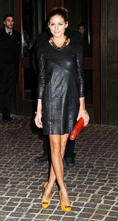 Black Dress - Olivia Palermo
