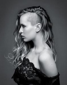 Alice Dellal - If I grow my hair longer, I wanna have this edgy hair style!