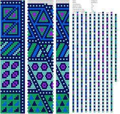 16 around tubular bead crochet rope pattern Crochet Bracelet Pattern, Crochet Beaded Bracelets, Bead Crochet Patterns, Bead Crochet Rope, Bead Loom Bracelets, Beaded Jewelry Patterns, Crochet Designs, Beading Patterns, Beaded Crochet