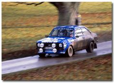 Hannu Mikkola Ford Escort RS. 1980 Lombard RAC Rally GB.