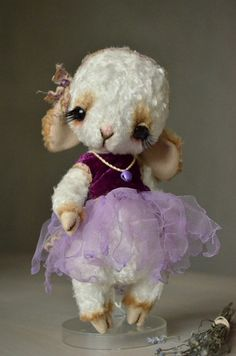PDF File For Sewing pattern 8 Inch Lamb by noblefabric on Etsy