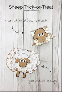PERFECT for YEAR OF THE SHEEP too!!! Sheep craft, activity, and snack | @mamamissblog #chinesenewyear #bookandcraft #readandplay