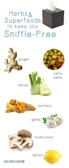 http://onegr.pl/1tUJpgX #vegan #vegetarian #herbs #superfoods #colds #sick #healthy