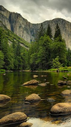 Beautiful Nature.. Mountains.. Water, rocks, trees!