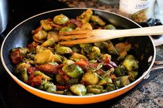 I've been making these Brussels sprouts for my family for a long time and they always beg me to make more, so I'd say it's one of their favorite keto recipes. Since Thanksgiving is coming up, I figured I'd share a recipe that is a guaranteed success for the holidays. Some onions, some garlic, and …