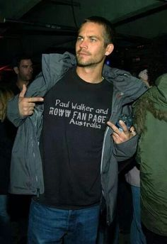 Paul Walker, love you, always in my heart <3