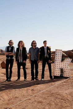 The Killers...best concert I've ever been to! Got to see that 'K' live and in person!!