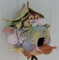 or this bird house, Gnomes/Goblins