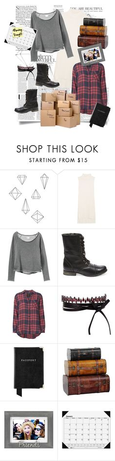 """""""Moving Day!!"""" by despicableme12 ❤ liked on Polyvore featuring ASOS, Umbra, Splendid, RVCA, Steve Madden, Rails, White Label, Fallon, Aspinal of London and Malden International Designs"""