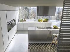 Cucina bianca moderna 06