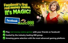 Magic888 soon to go live as 888 Casino and Facebook become partners and offer slots, poker, and casino games.