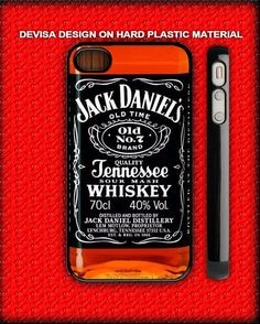 jack daniels old whiskey for iphone 5 and iphone 4/s case