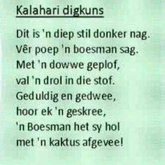 Kalahari digkuns Afrikaans Quotes, Fun Signs, Idioms, Kiss You, Powerful Words, Wise Words, Poems, Writing, Sayings
