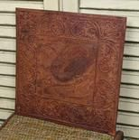 """8"""" Rusty Tin Embossed Scroll Vintage Reproduction Ceiling Tile  Price: $5.79"""